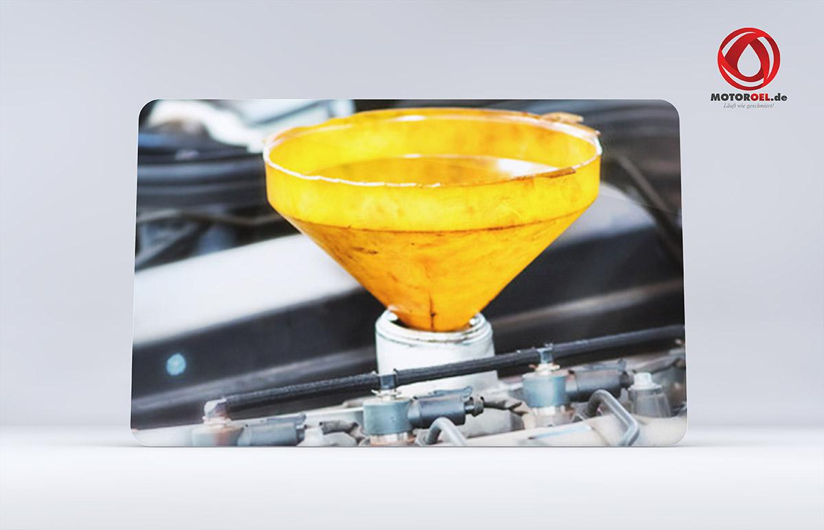 Wo kommt das Motoröl rein?