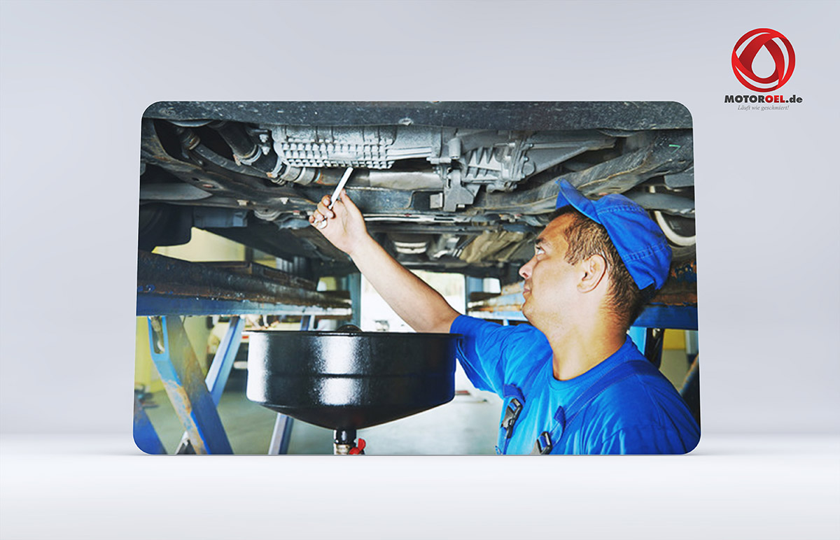 Wie wechsle ich Motoröl?