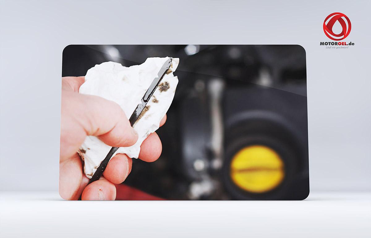 Wie sieht neues Motoröl aus?