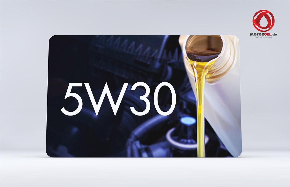 Was bedeutet 5W30 beim Motoröl?