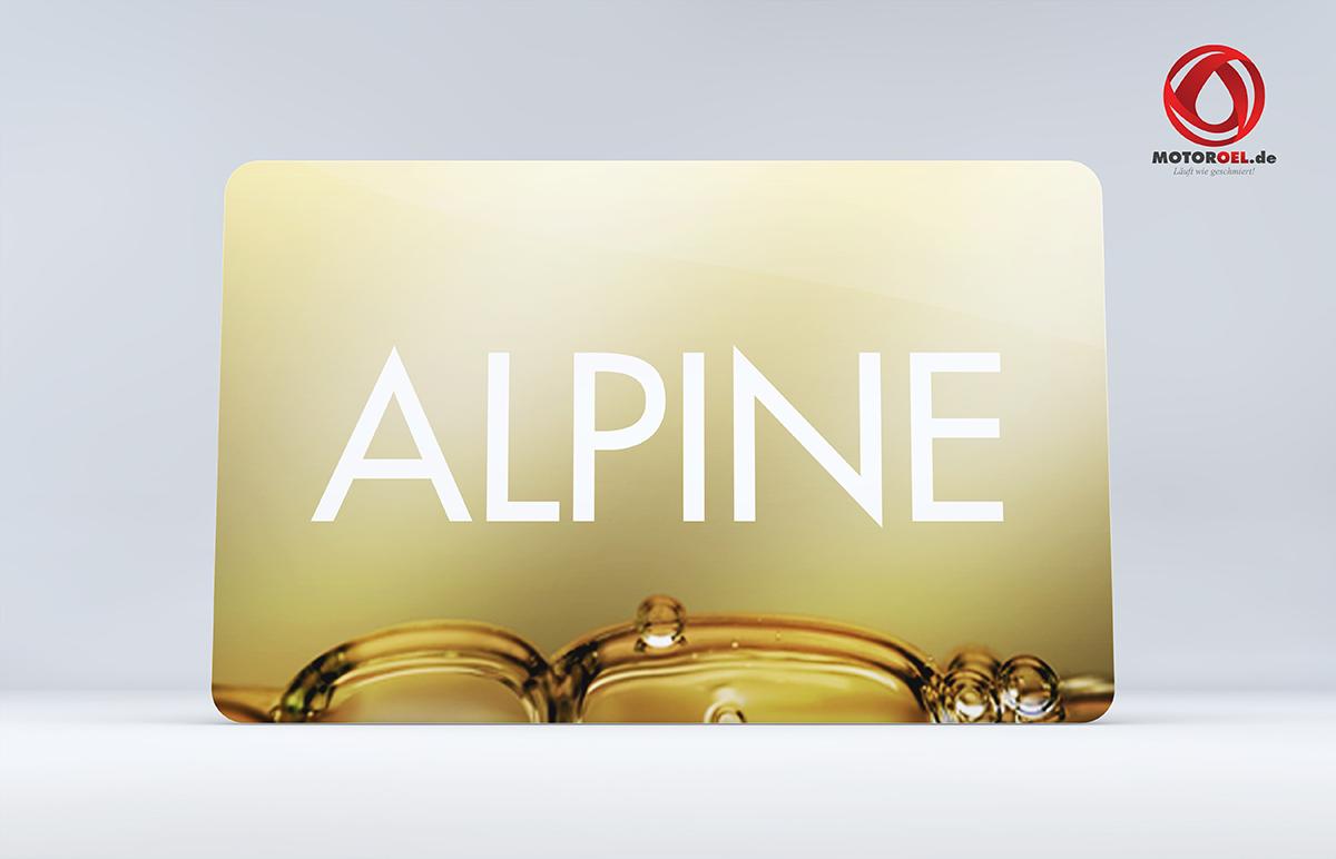 Wer stellt Alpine Motoröl her?